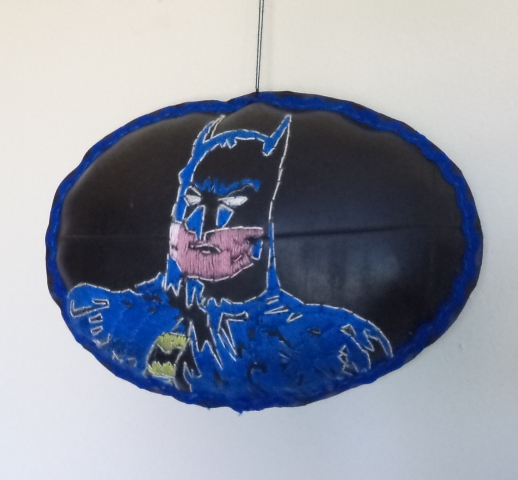 batman on rubber