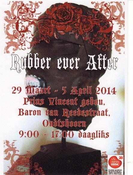 Exhibition poster designed by Kia Hattingh