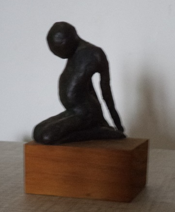 Bronze sculpture by Robyn Fuller