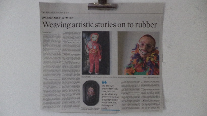 Article in the Cape Times newspaper today written by Steyn du Toit