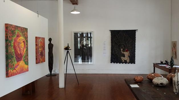 Installation view at Knysna Fine Art