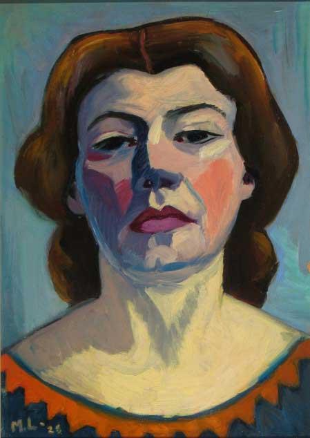 Self-Portrait by Maggie Laubser 1928